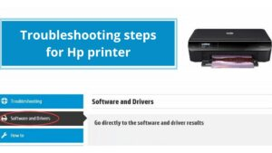 Troubleshooting steps for Hp printer