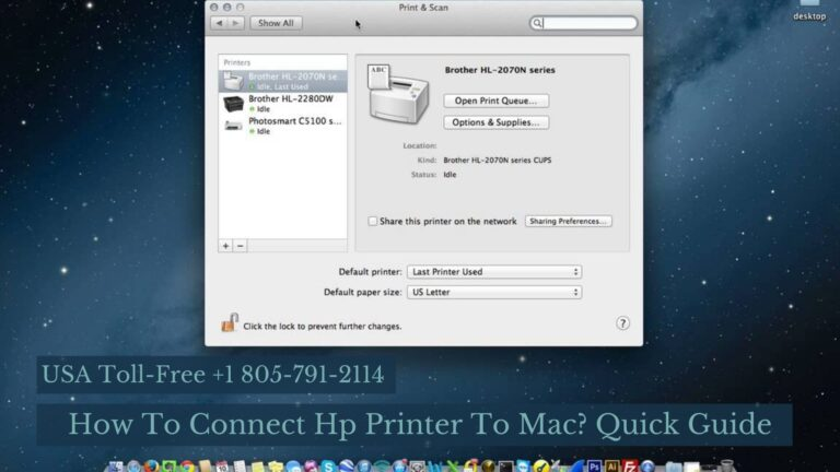 How To Connect Hp Printer To Mac