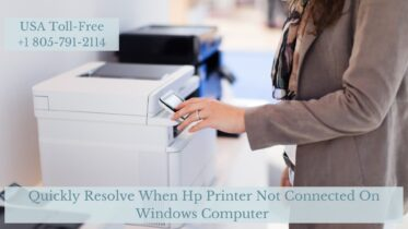 Hp Printer Not Connected