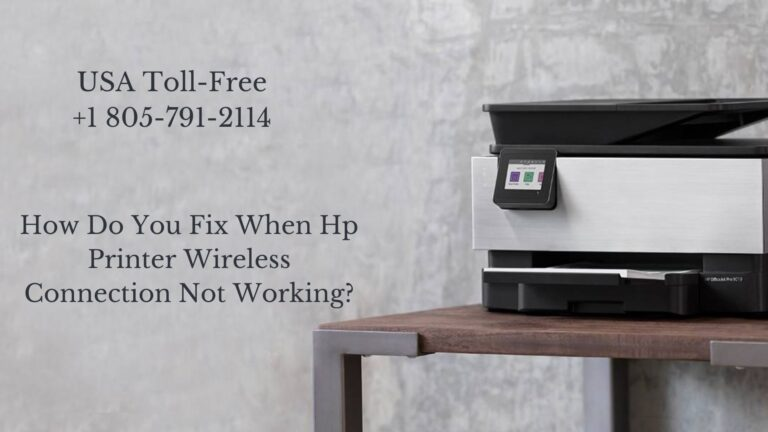 Hp Printer Wireless Connection